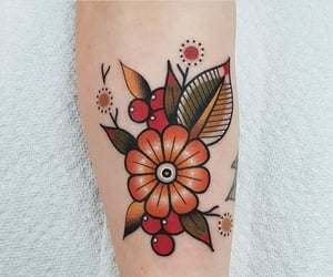 flowers, tattoo, and Tattoos image