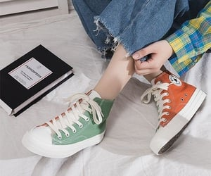 converse, sneakers, and convers image