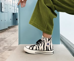 convers, green, and sneaker image
