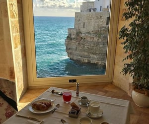 food, italy, and sea image
