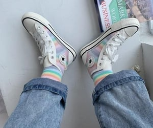 aesthetic, colorful, and convers image