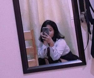 aesthetic, school girl, and short hair image