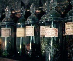 hogwarts, harry potter, and potion image