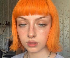 orange hair, eve.frsr, and orange image