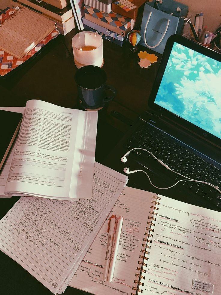 books, college, and focus image