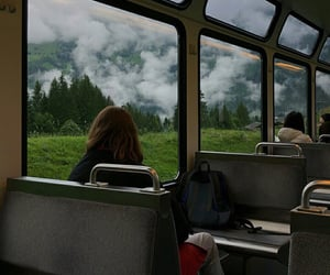 aesthetic, travel, and mountains image