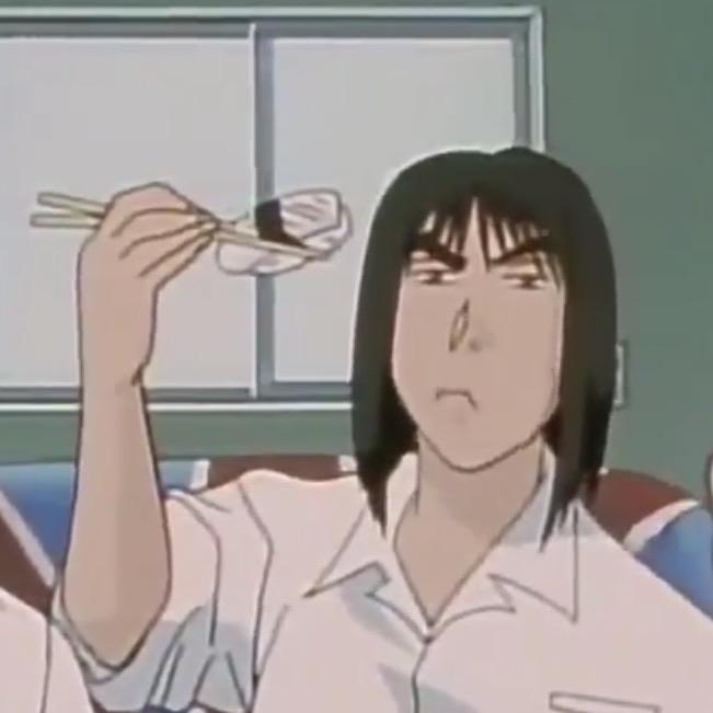 anime, sushi, and anime food image