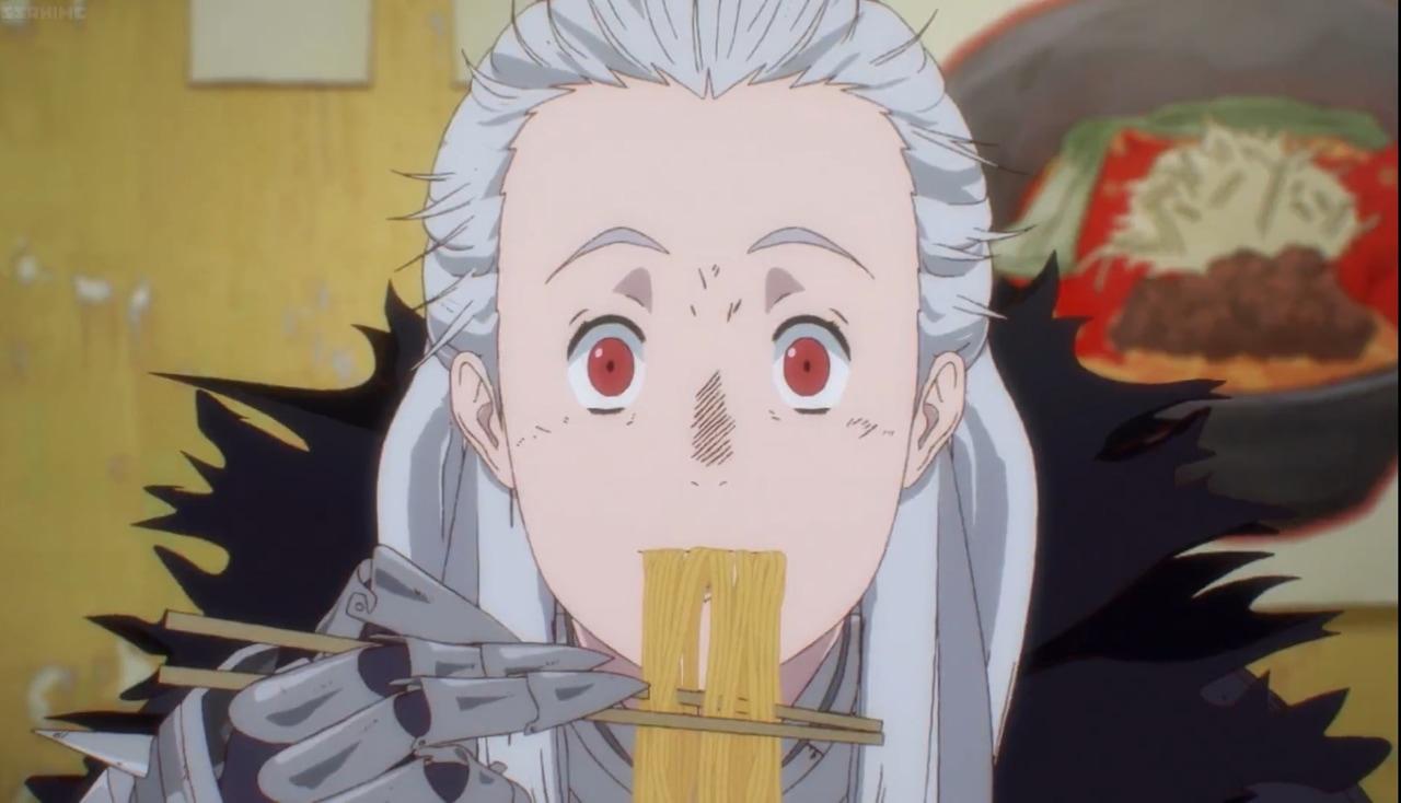 anime, anime girl, and ramen image