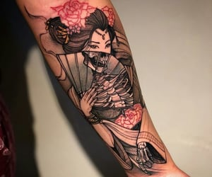 tattoo, arm, and cool image