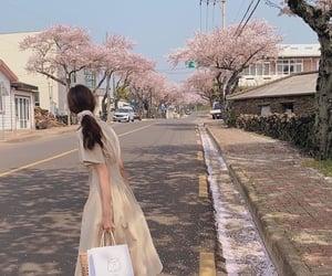city, street, and fashion image