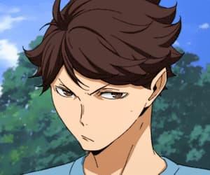 anime, haikyu, and oikawa tooru image
