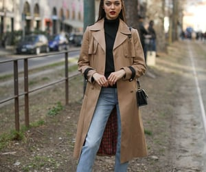 fashion, model off duty, and street style image