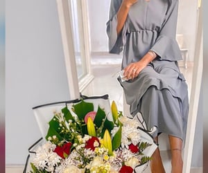 fashion, flowers, and goal image