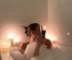 bath, girl, and aesthetic image