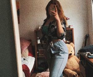 curvy, fashion, and girl image