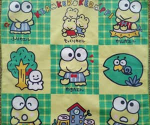 frog, green, and japan image