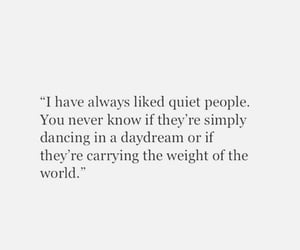 quotes, text, and quiet people image