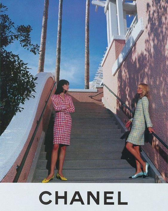 chanel and magazine image