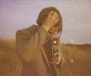 boy, camera, and film image