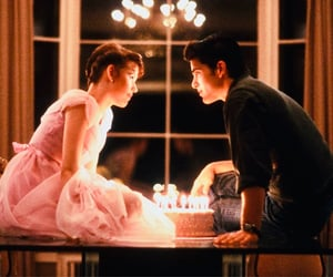 sixteen candles, 80s, and movie image