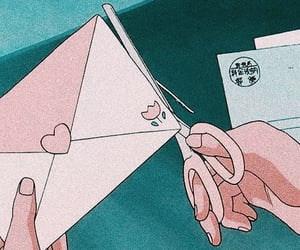 90s, anime, and mail image