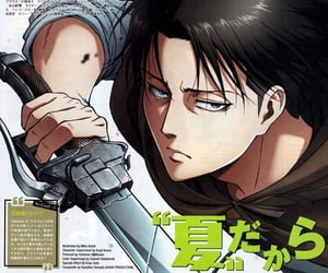 snk, anime, and levi image