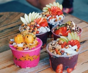 fruit, food, and bowls image