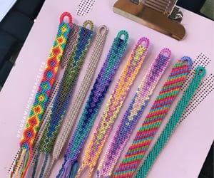 bracelets, handmade, and friendship bracelets image