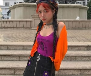 clothes, looks, and neon image