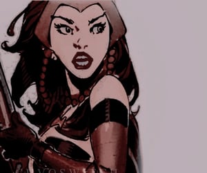 scarlet witch, comic scarlet witch, and wanda maximoff image