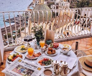 breakfast, travel, and food image