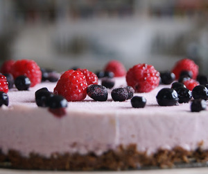 art, baking, and berry image