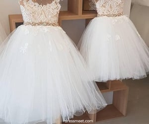 pretty dresses, birthday dresses, and flower girls dress image