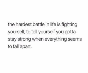 battle, breakup, and falling apart image