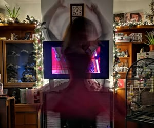 aesthetic, dancing, and lights image