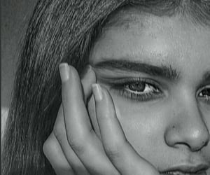 b&w, beauty, and eyes image