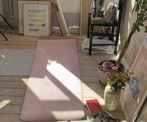 yoga and aesthetic image