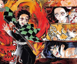demon slayer and kimetsu no yaiba image
