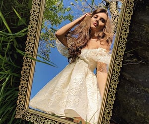 dress, ethereal, and fairytale image