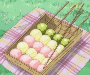 food, kawaii, and anime food image