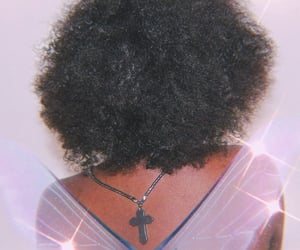 aesthetic, Afro, and black girl image