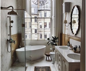 bathroom, home, and design image