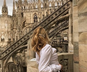 girl, travel, and architecture image