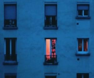 light, night, and blue image
