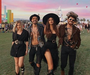 girls, boys, and coachella image