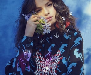 selena gomez, celebrity, and flowers image