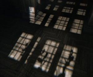 abandoned, dark, and floor image