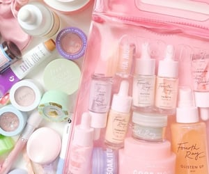 bliss, pink, and skincare image