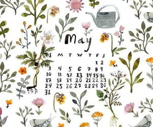 art, calendar, and maio image