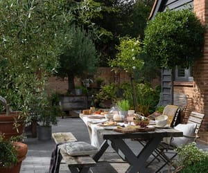 backyard, party, and outdoor party image